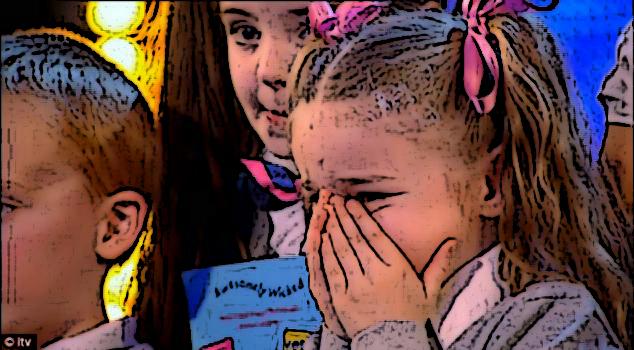 """Criança chora durante programa de tv britânico """"Britain's got talent"""""""