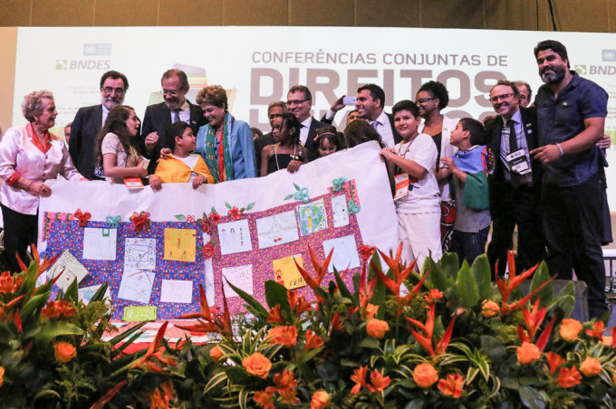 Brasília, 26/04/2016. Abertura da Conferência nacional de Direitos Humanos. Foto: Claudio Fachel/SDH.