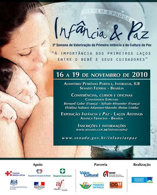 Flyer promocional, texto transcrito abaixo (imagem de fundo: mãe e bebê)